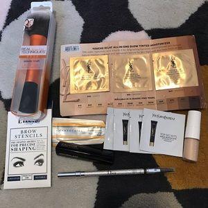 Dior powder eyebrow pencil real techniques powder